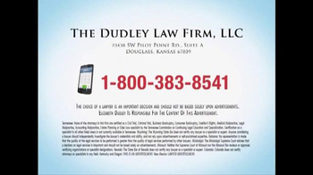 The Dudley Law Firm TV Spot, 'Cipro' - Thumbnail 8