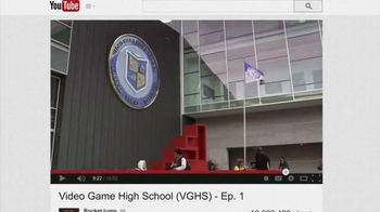 YouTube TV Spot, 'Video Game High School' - Thumbnail 2