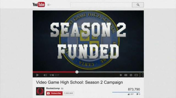 YouTube TV Spot, 'Video Game High School' - Thumbnail 5