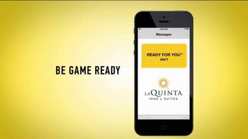 La Quinta Inns and Suites TV Spot, 'Game Ready' - Thumbnail 8