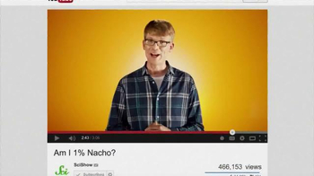 YouTube TV Spot, 'SciShow: Am I 1% Nacho?' - Thumbnail 9