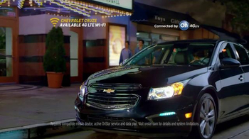 2015 Chevrolet Cruze TV Spot, 'First Date: #TheNew Independence' - Thumbnail 9