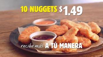 Burger King Chicken Nuggets TV Spot, 'Precio Especial' [Spanish] - Thumbnail 9