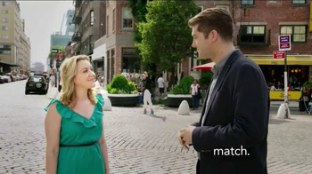 Match.com TV Spot, 'Match on the Street: Pilates Instructor' - Thumbnail 1