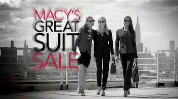 Macy's Great Suit Sale TV Spot, 'Buy More, Save More' - Thumbnail 1