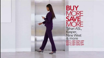 Macy's Great Suit Sale TV Spot, 'Buy More, Save More' - Thumbnail 3