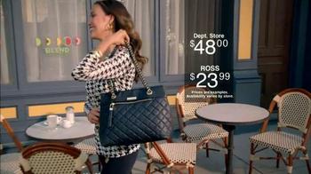 Ross TV Spot, 'You Can't Beat Ross in Handbags' - Thumbnail 8