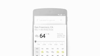 Google App TV Spot, 'Wind Speed' - Thumbnail 6