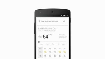 Google App TV Spot, 'Wind Speed' - Thumbnail 7