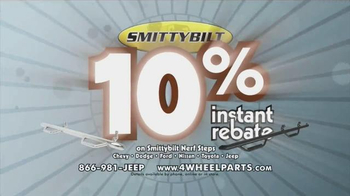 4 Wheel Parts TV Spot, 'Save 10% on Smittybilt Nerf Steps' - Thumbnail 5