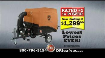 DR Power Equipment Leaf Vacuum TV Spot, 'Autumn' - Thumbnail 8