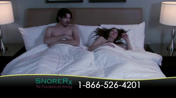 SnoreRx TV Spot, 'Certified Mouthguard for the Treatment of Snoring' - Thumbnail 1