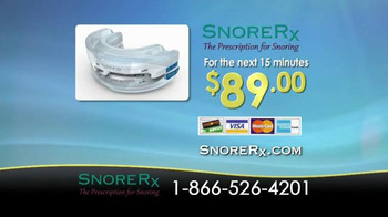 SnoreRx TV Spot, 'Certified Mouthguard for the Treatment of Snoring' - Thumbnail 8