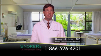 SnoreRx TV Spot, 'Certified Mouthguard for the Treatment of Snoring' - Thumbnail 7