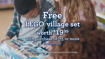 Toys R Us Free LEGO Village Set TV Spot, 'Imagination Comes to Life' - Thumbnail 10