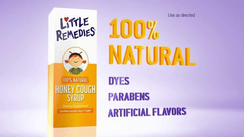 Little Remedies Honey Cough Syrup TV Spot, 'Natural' - Thumbnail 7