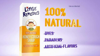 Little Remedies Honey Cough Syrup TV Spot, 'Natural' - Thumbnail 8