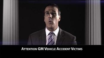 Criden Law Group TV Spot, 'GM Vehicle Accident Victims' - Thumbnail 2