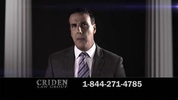 Criden Law Group TV Spot, 'GM Vehicle Accident Victims' - Thumbnail 4