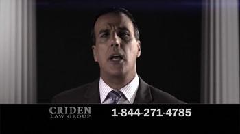 Criden Law Group TV Spot, 'GM Vehicle Accident Victims' - Thumbnail 7