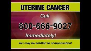 Pulaski & Middleman TV Spot, 'Uterine Cancer'