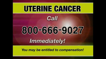 Pulaski & Middleman TV Spot, 'Uterine Cancer' - Thumbnail 5