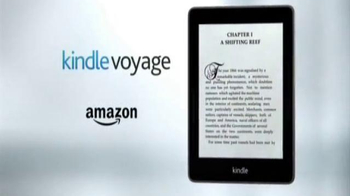Amazon Kindle Voyage TV Spot, 'Passionately Crafted for Readers' - Thumbnail 8