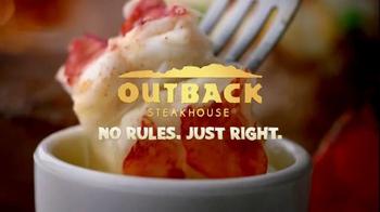 Outback Steakhouse Steak & Lobster TV Spot, 'Back By Popular Demand' - Thumbnail 9