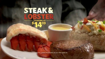 Outback Steakhouse Steak & Lobster TV Spot, 'Back By Popular Demand' - Thumbnail 2