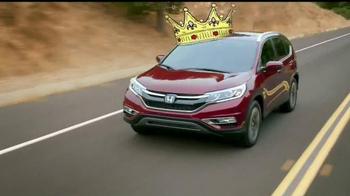 2015 Honda CR-V TV Spot, 'Motor Trend SUV of the Year' - Thumbnail 4