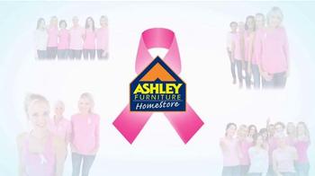 Ashley Furniture Homestore TV Spot, 'Breast Cancer Awareness Month' - Thumbnail 2