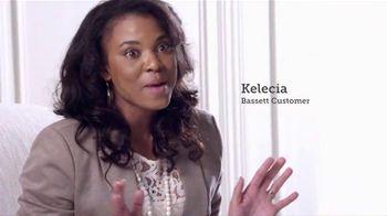 Bassett Custom Furniture Sale TV Spot, 'Fun to Shop'