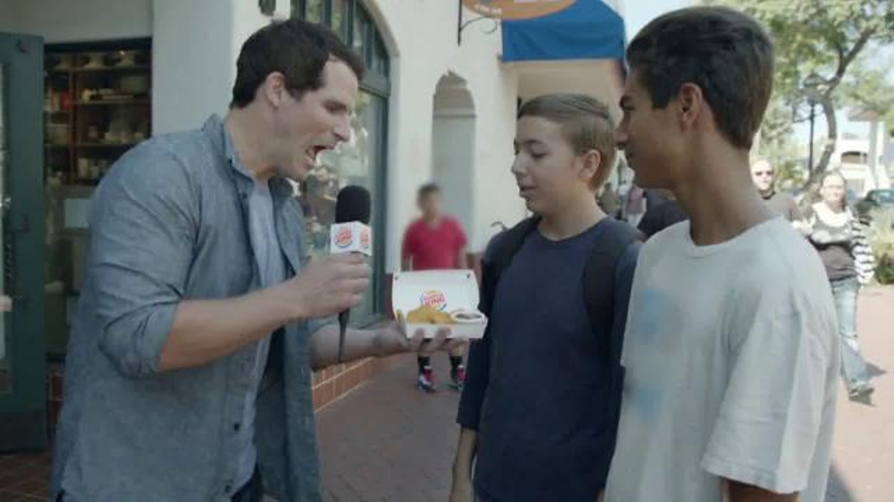 Burger King Chicken Nuggets TV Commercial, 'Street Interview'