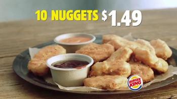 Burger King Chicken Nuggets TV Spot, 'Street Interview' - Thumbnail 10