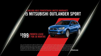 2015 Mitsubishi Outlander Sport TV Spot, 'Find Your Own Lane' - Thumbnail 10