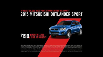 2015 Mitsubishi Outlander Sport TV Spot, 'Find Your Own Lane' - Thumbnail 8