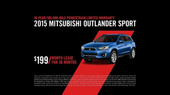 2015 Mitsubishi Outlander Sport TV Spot, 'Find Your Own Lane' - Thumbnail 9