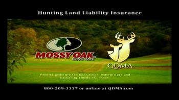 QDMA TV Spot, 'Hunting Land Liability Insurance' - Thumbnail 3