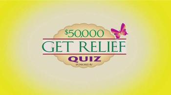 Senokot Tablets TV Spot, '$50,000 Get Relief Quiz' - Thumbnail 1