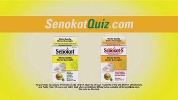 Senokot Tablets TV Spot, '$50,000 Get Relief Quiz' - Thumbnail 10