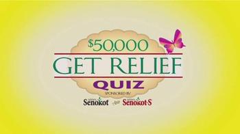 Senokot Tablets TV Spot, '$50,000 Get Relief Quiz' - Thumbnail 4