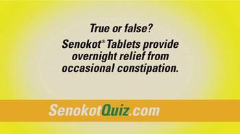 Senokot Tablets TV Spot, '$50,000 Get Relief Quiz' - Thumbnail 5
