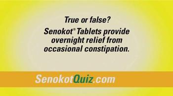 Senokot Tablets TV Spot, '$50,000 Get Relief Quiz' - Thumbnail 6