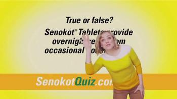 Senokot Tablets TV Spot, '$50,000 Get Relief Quiz' - Thumbnail 8