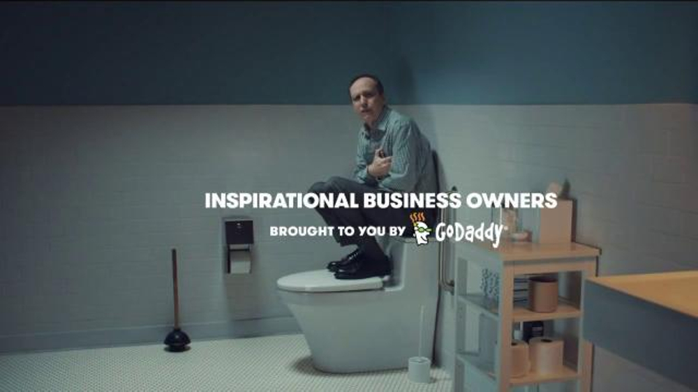 GoDaddy TV Commercial, 'Crying'