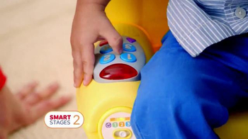 Fisher Price Smart Stages Chair TV Spot, 'Advance Imagination' - Thumbnail 6