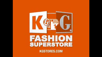 K&G Fashion Superstore Semi-Annual Dress Event TV Spot, \'Fall Suits\'