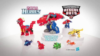 Transformers Rescue Bots TV Spot, 'Optimus Primal' - Thumbnail 8
