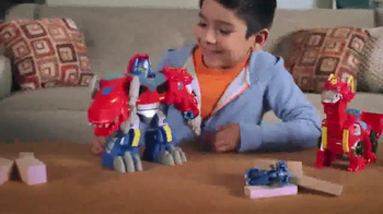 Transformers Rescue Bots TV Spot, 'Optimus Primal' - Thumbnail 2