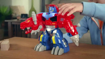 Transformers Rescue Bots TV Spot, 'Optimus Primal' - Thumbnail 3
